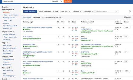 ابزار جستجوی بک لینکها Backlink Research